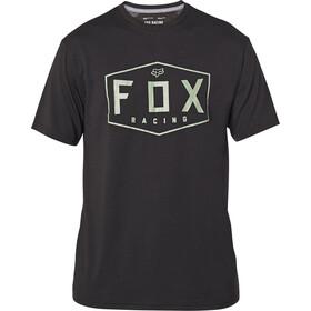 Fox Crest Maglietta Tech Maniche Lunghe Uomo, black/green